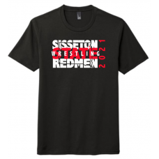 Sisseton State Wrestling  District ® Perfect Tri ® Tee