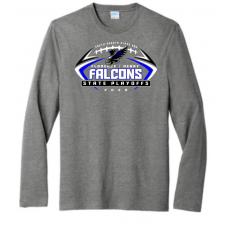 Falcon Football Port & Company ® Long Sleeve Fan Favorite ™ Blend Tee