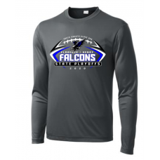 Falcon Football Sport-Tek ® PosiCharge ® Long Sleeve Competitor Tee