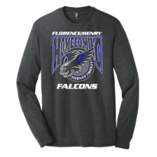 Falcon Homecoming  District ® Perfect Tri ®Long Sleeve Tee