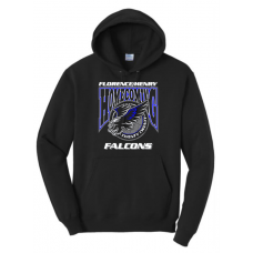 Falcon Homecoming P&C Essential Fleece Pullover Hooded Sweatshirt