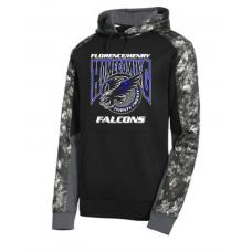 Falcon Homecoming Sport-Tek® Sport-Wick® Mineral Freeze Fleece Colorblock Hooded Pullover