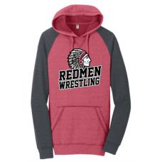 Sisseton Wrestling District Lightweight Raglan Hoodie