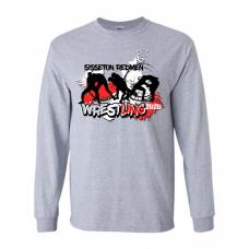 Sisseton T Wrestling Gildan® - Ultra Cotton® 100% Cotton Long Sleeve T-Shirt