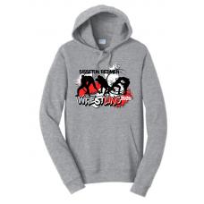 Sisseton T Wrestling Port & Company® Fan Favorite™ Fleece Pullover Hooded Sweatshirt
