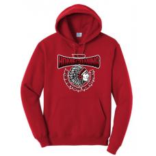 Sisseton Homecoming Port & Company® - Essential Fleece Pullover Hooded Sweatshirt
