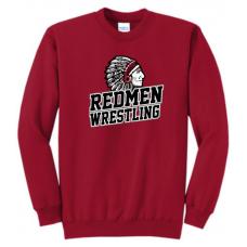 Sisseton Wrestling Port & Company® - Essential Fleece Crewneck Sweatshirt