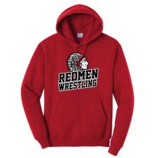 Sisseton Wrestling Port & Company® - Essential Fleece Pullover Hooded Sweatshirt