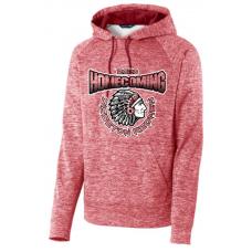 Sisseton Homecoming Sport-Tek® PosiCharge® Electric Heather Fleece Hooded Pullover
