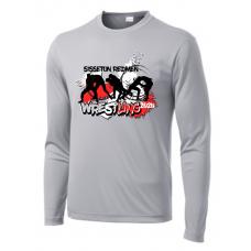 Sisseton T Wrestling Sport-Tek ® PosiCharge ® Long Sleeve Competitor Tee