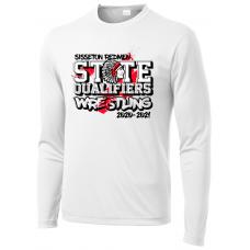 Sisseton State Wrestling Sport-Tek ® PosiCharge ® Long Sleeve Competitor Tee