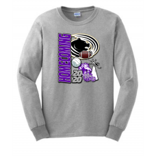 Waubay Homecoming Gildan LS T-Shirt