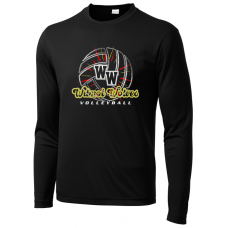 Wilmot Volleyball Sport-Tek ® PosiCharge ® LS Competitor Tee
