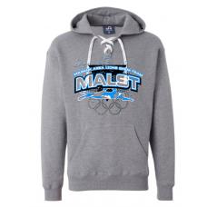 MALST J. America - Sport Lace Hooded Sweatshirt