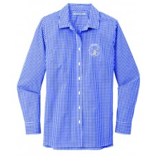 Wapiti Port Authority ® Ladies Broadcloth Gingham Easy Care Shirt