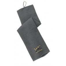 WC Port Authority® Waffle Microfiber Golf Towel