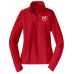 WC Sport-Tek® Ladies Sport-Wick® Stretch 1/2-Zip Pullover