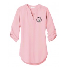 Wapiti Port Authority ® Ladies 3/4-Sleeve Tunic Blouse
